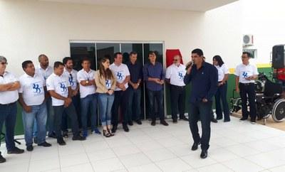 Vereadores inauguração ESF Padre Onesto Costa