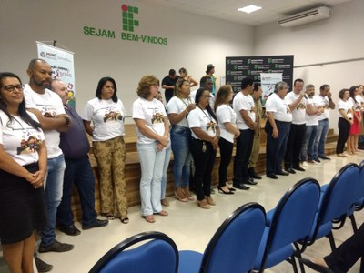 Vereadores apresentação do projeto Prevenção Começa na Escola