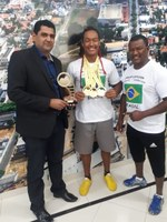 Atleta de Primavera do Leste conquista título no mundial de capoeira no Rio de Janeiro