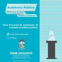 Câmara realizará audiência pública para debater fraternidade e políticas públicas