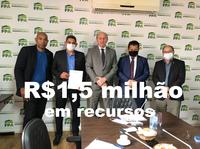 Crocodilo, Luis Costa e Vado conquistam 1,5 milhão de emendas