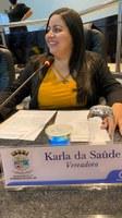 Karla da Saúde defende a construção de novo prédio para o Laboratório Municipal