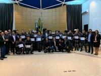Policiais militares do 11º Comando Regional recebem moção de aplausos