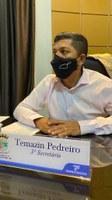 Temazin Pedreiro cobra mais organização nas obras das rotatórias da Avenida Porto Alegre