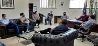 Vereadores se reúnem com equipe de saúde para discutir ações de combate ao Covid-19