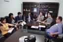 Vereadores se reúnem com Presidente e Conselheiro do TCE